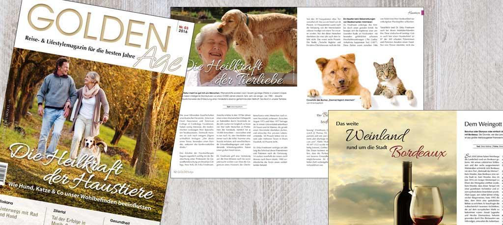 Demnächst erhältlich: die neue Golden-Age-Herbstausgabe!