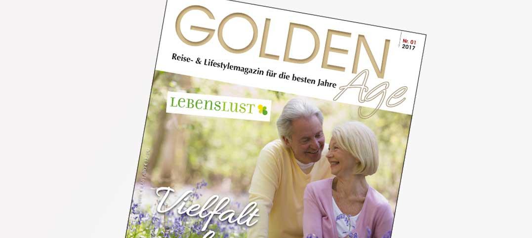 Das neue GOLDEN-Age-Frühjahrsmagazin erscheint Anfang März 2017!