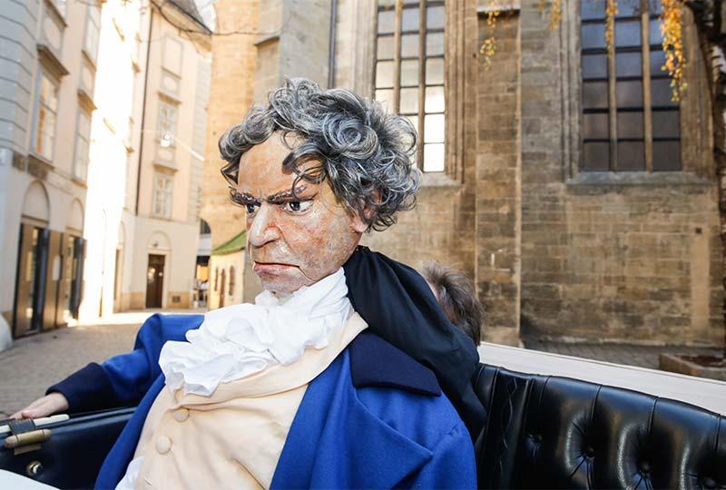 Beethovens Umzugskutsche in Wien