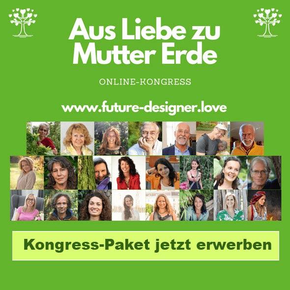 Werbebanner Online Kongress Aus Liebe zu Mutter Erde