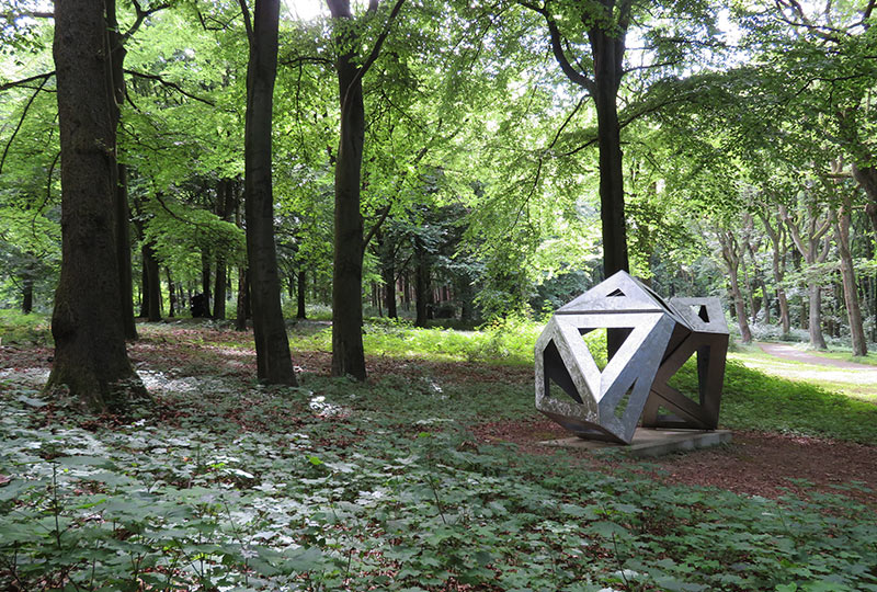 Kunstwerk im Skultpurenpark Waldfrieden, Wuppertal