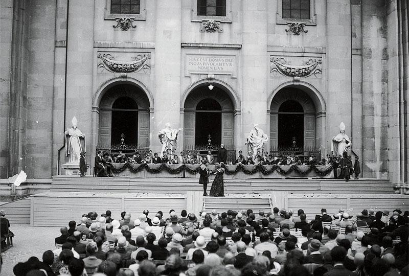 Salzburger Festspiele im Jahr 1920