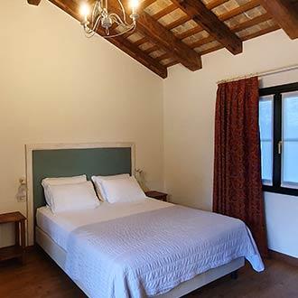 Schlafzimmer in einem Agriturismo-Bauernhof