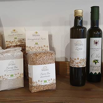 Landwirtschaftliche Bio-Produkte