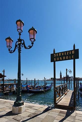 Servizio Gondole in Venedig