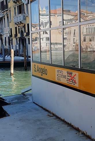 Sant' Angelo, Vaporetto-Station in Venedig