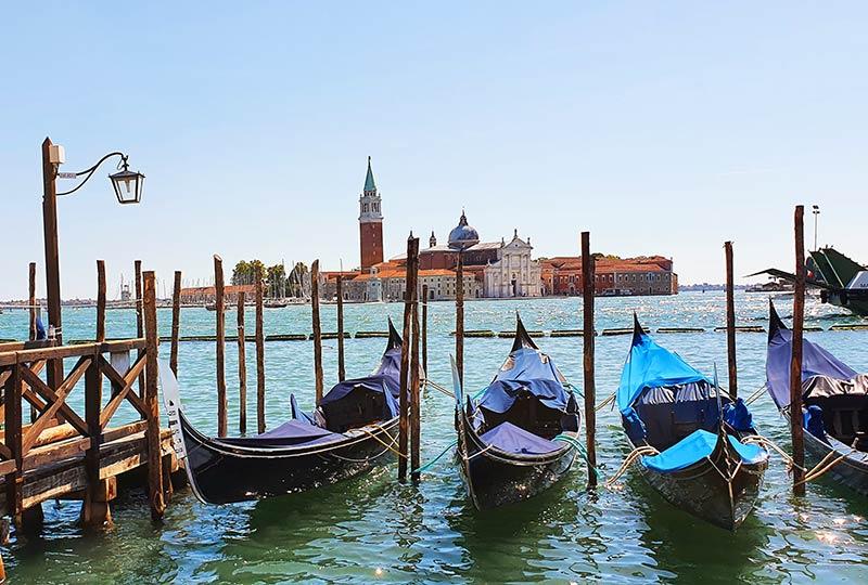 Venedig, Gondeln und Meer